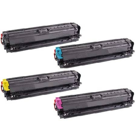 Clickinks 650A Full Set Remanufactured Toner Cartridges