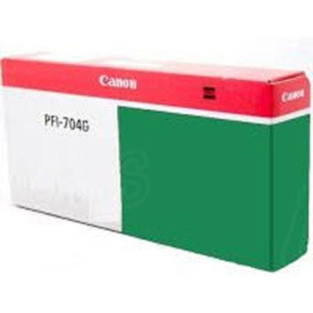 Canon PFI-704G Original Green Ink Cartridge