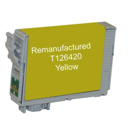 Epson 126 Yellow Remanufactured High Capacity Ink Cartridge