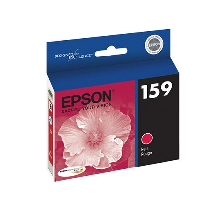 Epson T1597 (T159720) High-Gloss Original Red Ink Cartridge