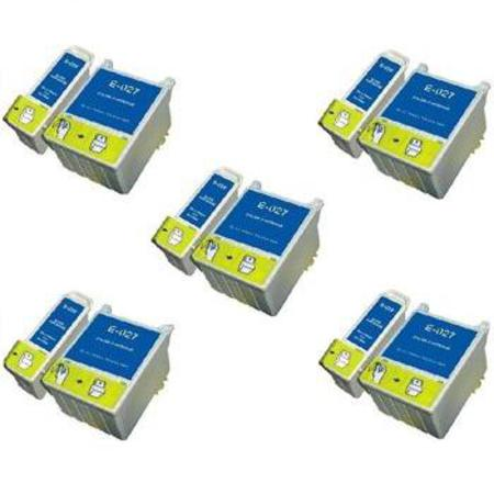 T026/T027 5 Full Sets Remanufactured Inks