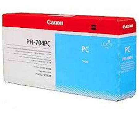 Canon PFI-704PC Original Photo Cyan Ink Cartridge