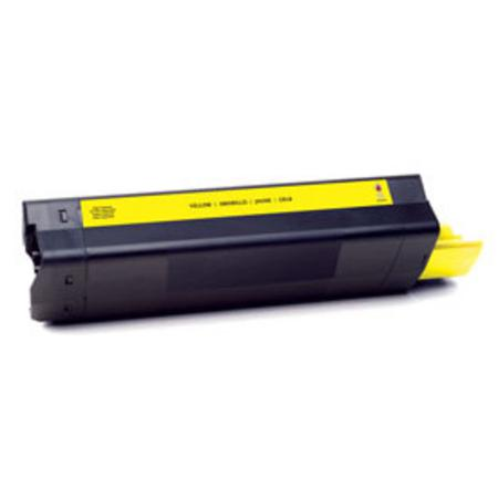 OKI 42127401 Yellow Remanufactured Toner Cartridge