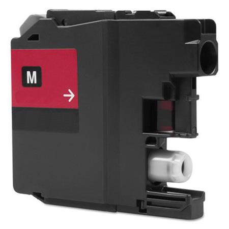 Compatible Magenta Brother LC20EM Extra High Yield Ink Cartridge
