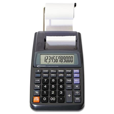 16010 One-Color Printing Calculator 12-Digit LCD Black