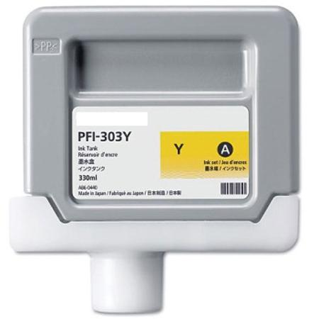Canon PFI-303Y Compatible Yellow Ink Cartridge