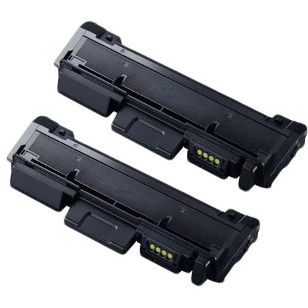 Compatible Twin Pack Black Samsung MLT-D116L Toner Cartridges