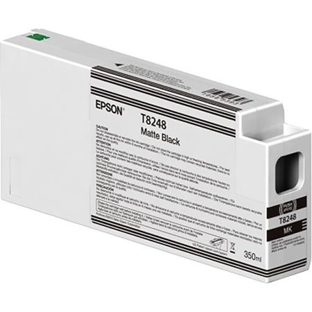 Epson T8248 (T824800) Matte Black Original UltraChrome HDX Ink Cartridge (350 ml)