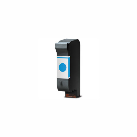 HP 40 Cyan Remanufactured Printer Ink Cartridge (51640C)