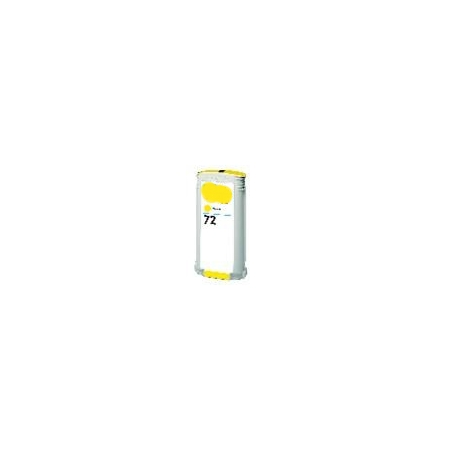 HP 72 Yellow Remanufactured High Capacity Ink Cartridge (C9373A) (130ml)