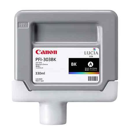 Canon PFI-303BK Original Black Ink Cartridge