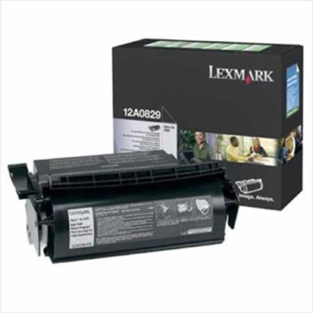 Lexmark 12A0829 Original Prebate Label Toner Cartridge