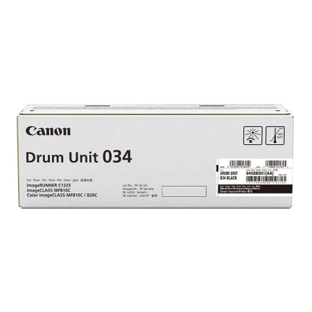 Canon 034 Black Original Drum Unit (9458B001)