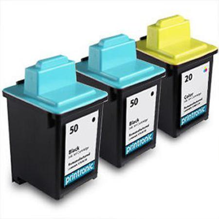 Clickinks No.50/No.20 Full Set + 1 EXTRA Black Remanufactured Ink