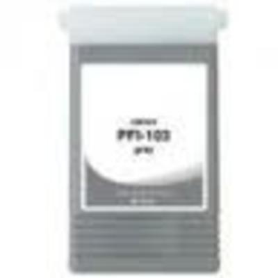 Compatible Grey Canon PFI-103GY Ink Cartridge (Replaces Canon 2213B001AA)