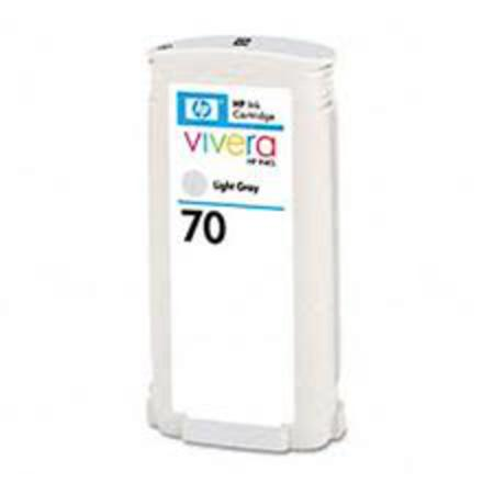 HP 70 Remanufactured Light Gray Print Cartridge (C9451A)