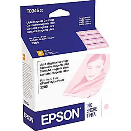Epson T0346 (T034620) Original Light Magenta Ink Cartridge