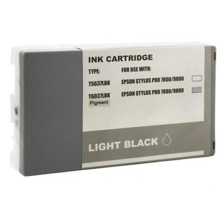 Epson T603700 (T6037) Light Black Remanufactured Ink Cartridge