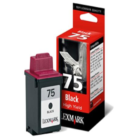 Lexmark No. 75 (12A1975) High Yield Black Original Print Cartridge