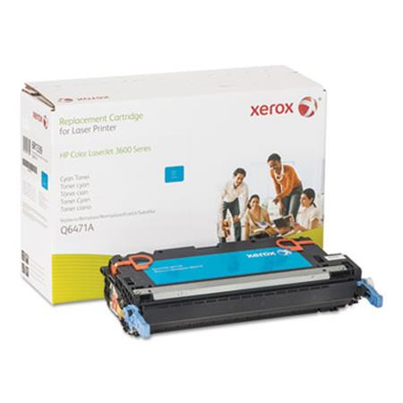 Xerox Premium Replacement Cyan Toner Cartridge for HP 502A (Q6471A)