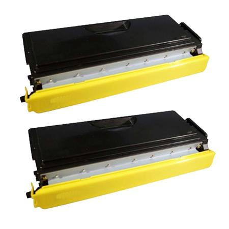 TN570 Black Remanufactured Toners Twin Pack