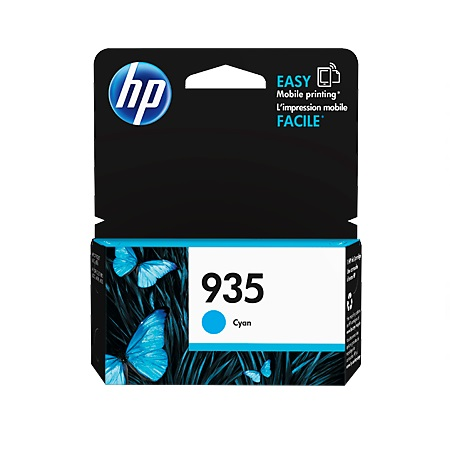 HP 935 Cyan Original Standard Capacity Ink Cartridge (C2P20AN)