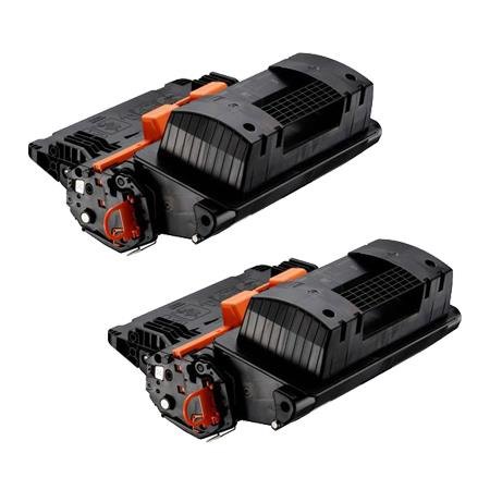 Clickinks 039BK Black Remanufactured Standard Capacity Toner Cartridges Twin Pack