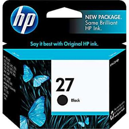 HP 27 Black Original Inkjet Print Cartridge (C8727AN)