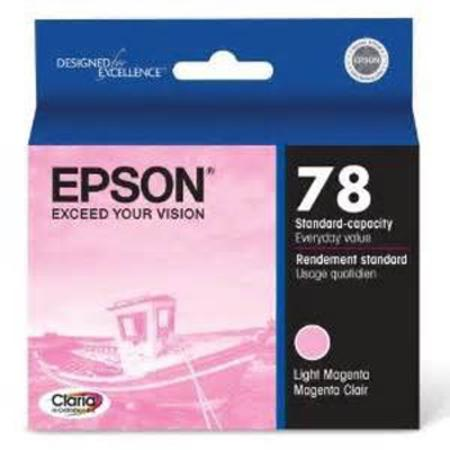 Epson T0786 (T078620) Standard Capacity Original Light Magenta Cartridge