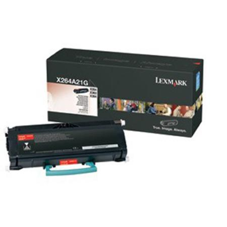 Lexmark X264A21G Black Original Toner Cartridge