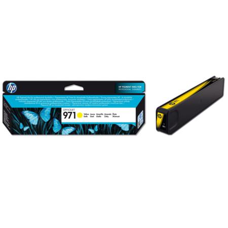 HP 971 Yellow Original Standard Capacity Ink Cartridge (CN624AM)