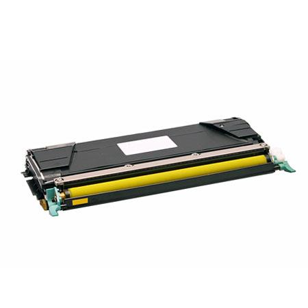 Compatible Yellow Lexmark C5242YH High Yield Toner Cartridge
