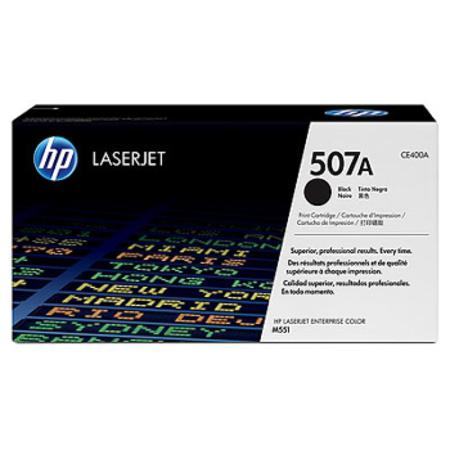 HP 507A (CE400A) Black Original Standard Capacity LaserJet Toner Cartridge
