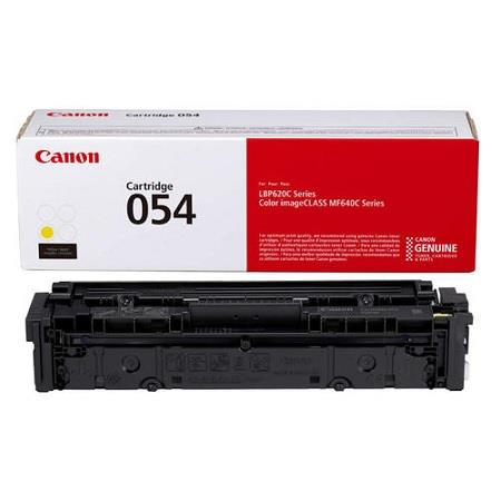 Canon 054Y (3021C004) Yellow Original Standard Capacity Toner Cartridge