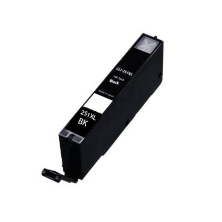 Compatible Black Canon CLI-251XLBK Ink Cartridge (Replaces Canon 6448B001)
