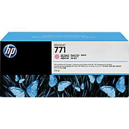 HP 771 (CR254A) Original Light Magenta Inkjet Cartridge - 3  PACK