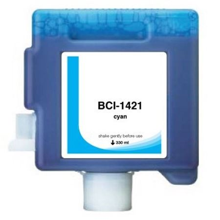 Compatible Cyan Canon BCI-1421C Ink Cartridge (Replaces Canon 8368A001AA)