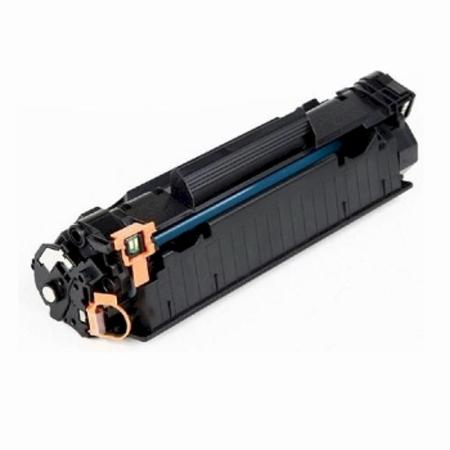 Canon 125 (3484B001AA) Remanufactured Black Laser Toner Cartridge (CE285A)