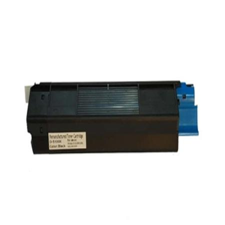 OKI 42127404 Black Remanufactured Toner Cartridge