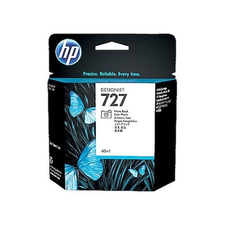 HP 727 Matte Black Original Standard Capacity Ink Cartridge