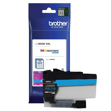 Brother LC3033C Cyan Original Extra High Capacity Ink Cartridge