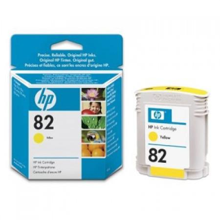 HP 82 Original Yellow Inkjet Cartridge (C4913A)