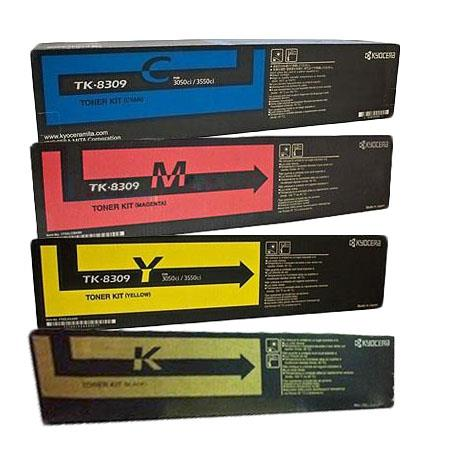 TK-8309K/C/M/Y Full Set Original Toners