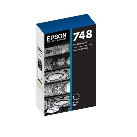 Epson 748 (T748120) Black Original Standard Capacity Ink Cartridge