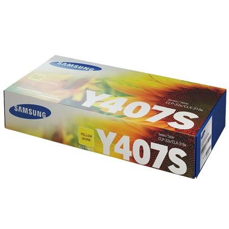 Samsung CLT-Y407S Original Yellow Toner Cartridge