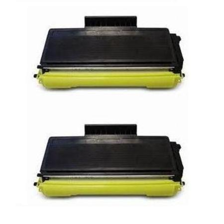 TN620/TN650 Black Remanufactured Toners Twin Pack