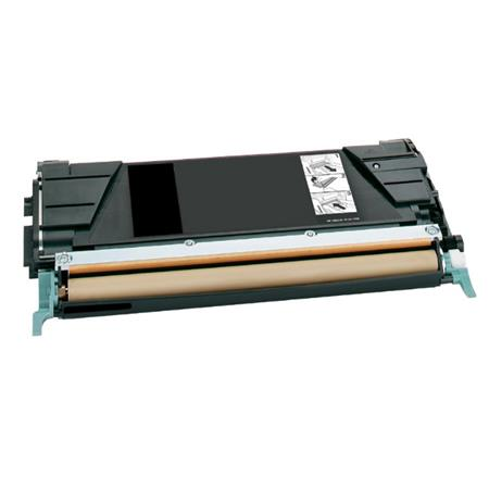 Lexmark C736H1KG Black Remanufactured High Yield Return Program Toner Cartridge