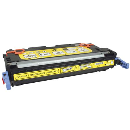 HP Color LaserJet Q7562A Yellow Remanufactured Print Toner Cartridge
