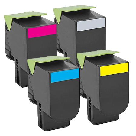 Clickinks 80C1SK/C/M/Y Full Set Remanufactured Standard Capacity Toners Twin Pack