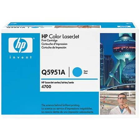 HP Color LaserJet Q5951A Cyan Original Print Cartridge with HP ColorSphere Toner
